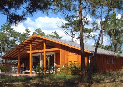 maison bois Périgord G2002