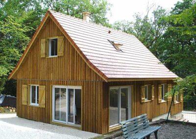 Maison bois Pervenche