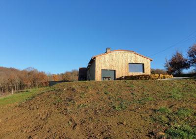 Extension bois sur un bâtiment existant