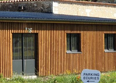 Maison bois contemporaine monopente